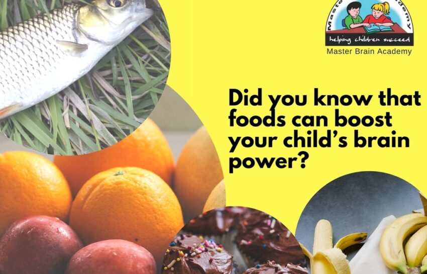 A Tip For Mothers – There's more to exams than just learning…. Did you know that foods can boost your child's brain power?